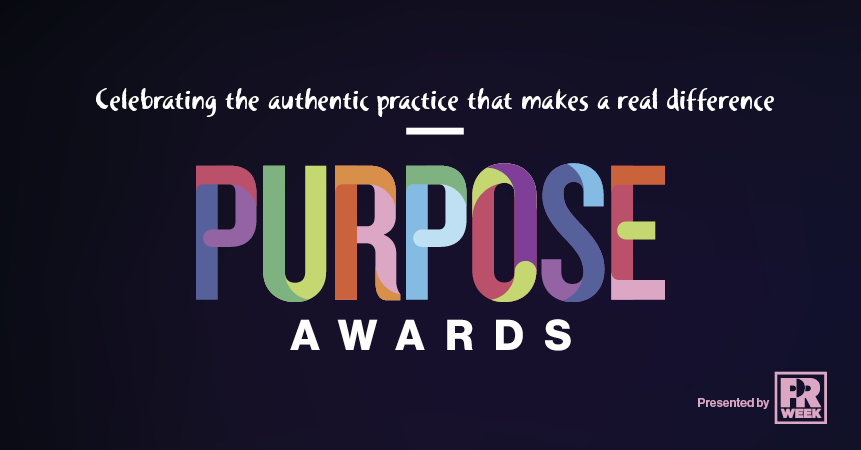 The Purpose Awards recognise creative ideas that promote positive change.