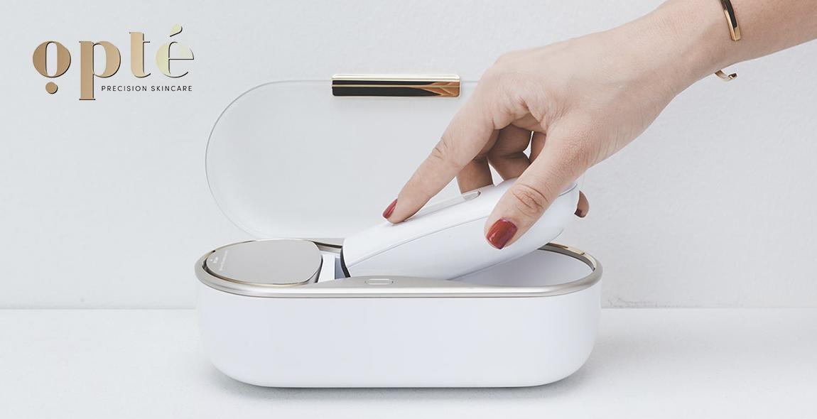 P&G unveiled Opté™ at CES 2019. Image reference: http://gadgetmatch.com/wp-content/uploads/2019/01/GadgetMatch-opte-skin-solutions-CES-2019-3-20190104.jpg